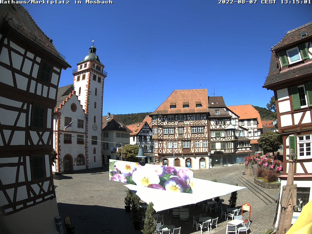 Mosbach City Center, Marktplatz