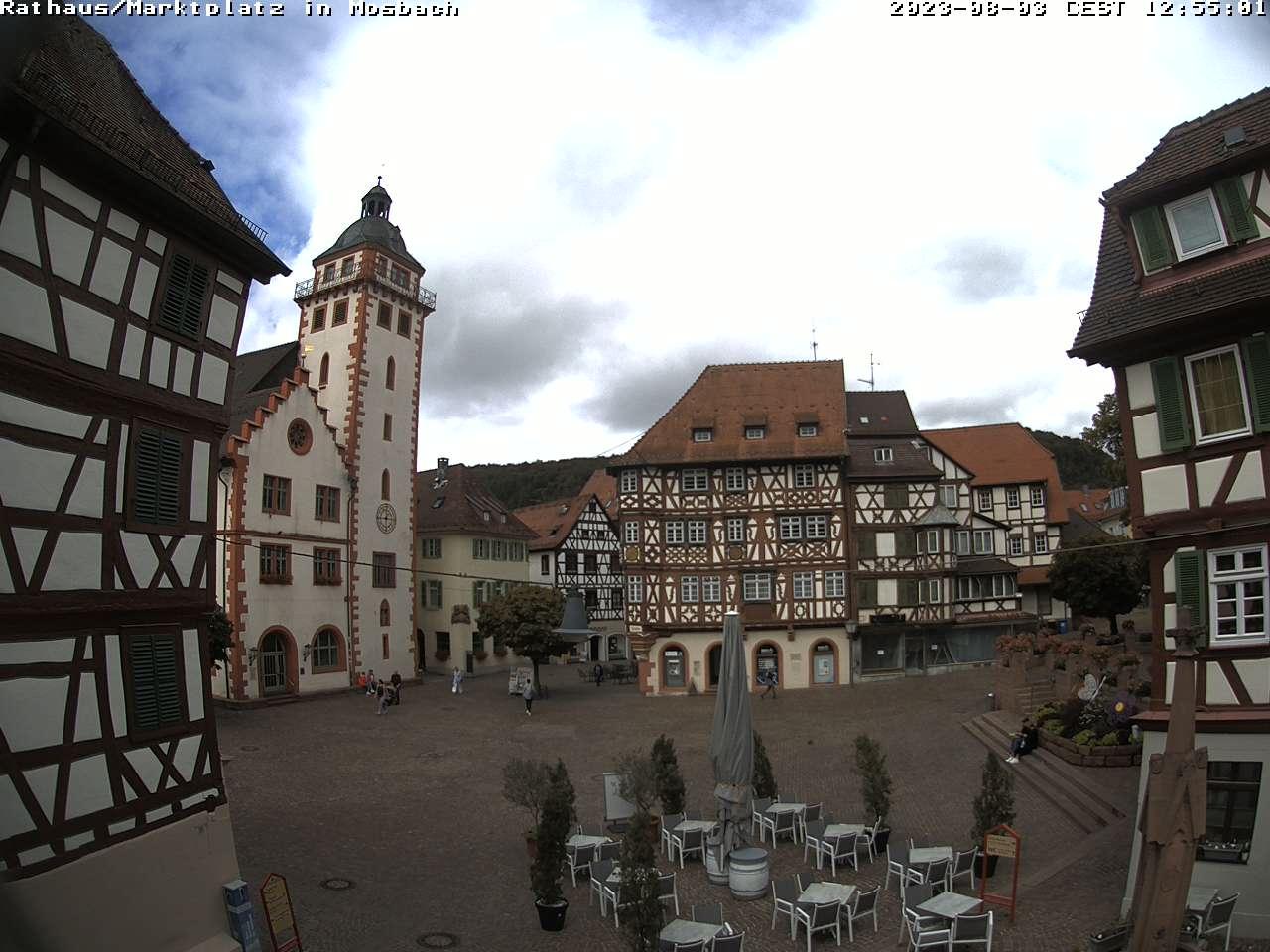 Webcam Mosbacher Marktplatz